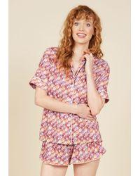 Shark Tm | Pink I Cat Believe My Eyes! Pajamas | Lyst