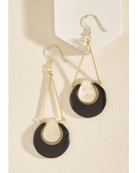 Mata Traders | Black Life Golds Earrings | Lyst