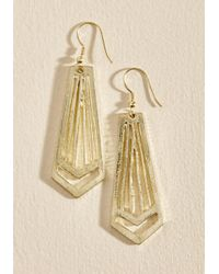 Mata Traders | Metallic The Glory Rays Earrings | Lyst