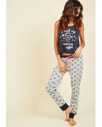 Sleep & Co. - Blue It's A Brew-tiful Morning Pajamas - Lyst
