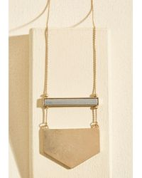 Ana Accessories Inc | Metallic A Game Of Give And Shape Necklace | Lyst
