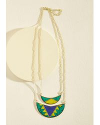Mata Traders - Yellow Morning, Moon, And Night Necklace - Lyst
