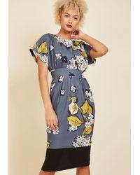 Closet   Blue Sui Generis Style Midi Dress   Lyst