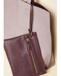 Triple 7 - Purple Know A Thing Or Two-tone Bag In Lilac - Lyst