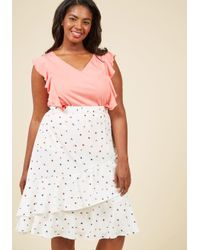 ModCloth | Multicolor Made For Movement Knit Top In Carnation | Lyst