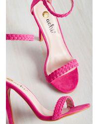 Machi Footwear - Pink Prim The Pump Heel In Fuchsia - Lyst