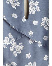 Sweet Rain - Blue Folklore Festival Dress - Lyst