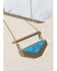 ModCloth - Multicolor A Fair Point Necklace - Lyst
