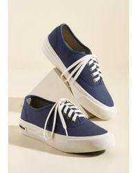 Seavees - Blue Can I Kickflip It? Sneaker In Navy - Lyst