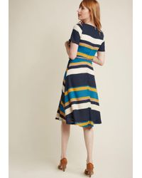 Sugarhill - Blue Ennoble The Everyday A-line Dress - Lyst