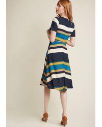 Sugarhill - Blue Ennoble The Everyday A-line Dress - Lyst