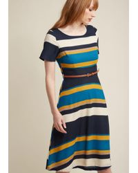 Sugarhill | Blue Ennoble The Everyday A-line Dress | Lyst