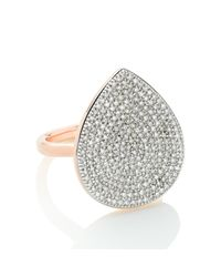 Monica Vinader - Metallic Alma Large Ring - Lyst