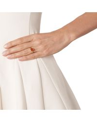Monica Vinader - Orange Siren Stacking Ring - Lyst