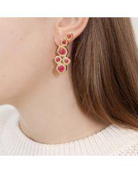Monica Vinader - Metallic Petra Cocktail Earrings - Lyst