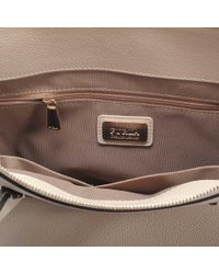 Furla - Natural Pin L Satchel Bag - Lyst