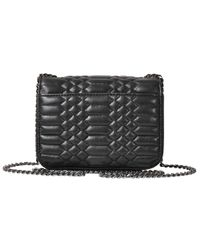 Zadig & Voltaire - Black Xs Skinny Love Scales Bag - Lyst