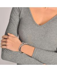 Valentino - Multicolor Rockstud Double Leather Bracelet - Lyst
