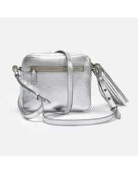 Anya Hindmarch - Crossbody Smiley Bag In Metallic Capra - Lyst