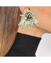 Shourouk - Metallic Cascade Earrings - Lyst