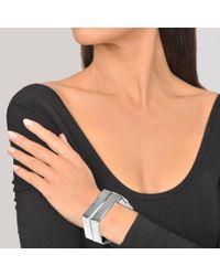 Proenza Schouler - Multicolor Large Square Bracelet Brass - Lyst