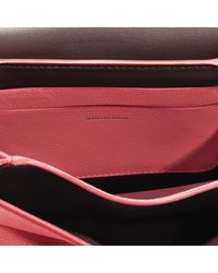 Burberry - Pink The Small D-ring Bag In Bright Coral Goatskin - Lyst