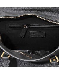 Alexander McQueen | Black Padlock Ziparound Bag | Lyst