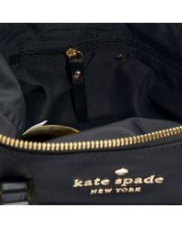 Kate Spade - Lucie Cameron Street Crossbody Bag In Black Nylon - Lyst