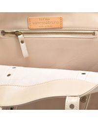 Vanessa Bruno - Pink Leather And Eyelets Medium + Tote - Lyst
