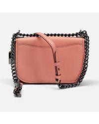 COACH - Pink Swagger 20 Shoulder Bag - Lyst