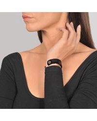 Ginette NY - Black Ceramic Monogram Bracelet - Lyst