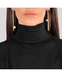 Joanna Laura Constantine - Metallic Rock Chic Ear-jacket Earrings - Lyst