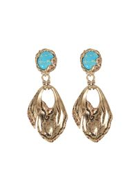 Roberto Cavalli - Multicolor Glam Stone Earrings - Lyst