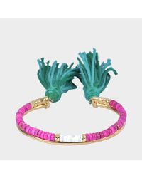 Aurelie Bidermann - Multicolor Sioux Bracelet - Lyst