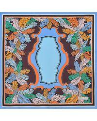 Emilio Pucci - Blue Silk Square 90x90 Raleigh - Lyst