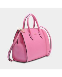 Furla - Pink Pin M Satchel Bag - Lyst