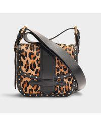 Vanessa Bruno - Multicolor Mini Gemma Crossbody Bag In Calfskin - Lyst