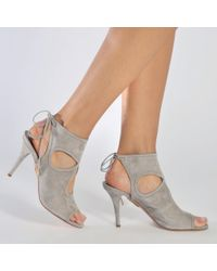 Aquazzura - Gray Sexy Thing 85 - Lyst