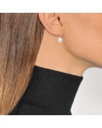 Aurelie Bidermann | White Cheyne Walk Water Pearls Earrings | Lyst