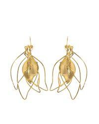 Aurelie Bidermann   Metallic Vera Pendant Earrings   Lyst