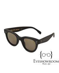 61bfb2e0747e Lyst - Céline Cl 41053 s Baby Audrey Sunglasses in Black