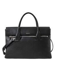 DKNY | Black Tribeca Lg Satchel Bag | Lyst