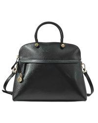 Furla   Black Piper L Top Handle Bag   Lyst