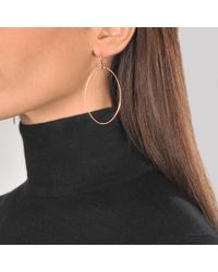 Ginette NY - Pink Bo Ellipse Earrings - Lyst