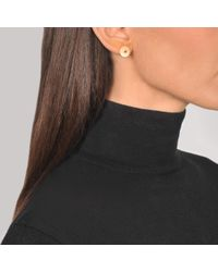 Ginette NY - Metallic Inside Out Disc Earrings - Lyst