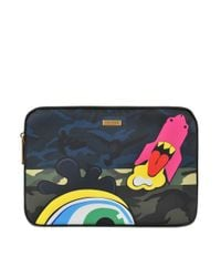 "Marc Jacobs | Multicolor Julie Verhoeven 11"" Computer Case 
