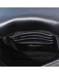 3.1 Phillip Lim - Black Alix Flap Shoulder Bag - Lyst