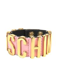 Moschino - Multicolor Lettering Bracelet - Lyst