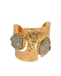 Sylvia Toledano - Metallic Pyrite Cuff - Lyst