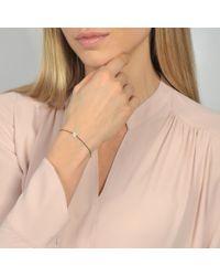 Vanessa Tugendhaft - Metallic Pave Identity Bracelet - Lyst